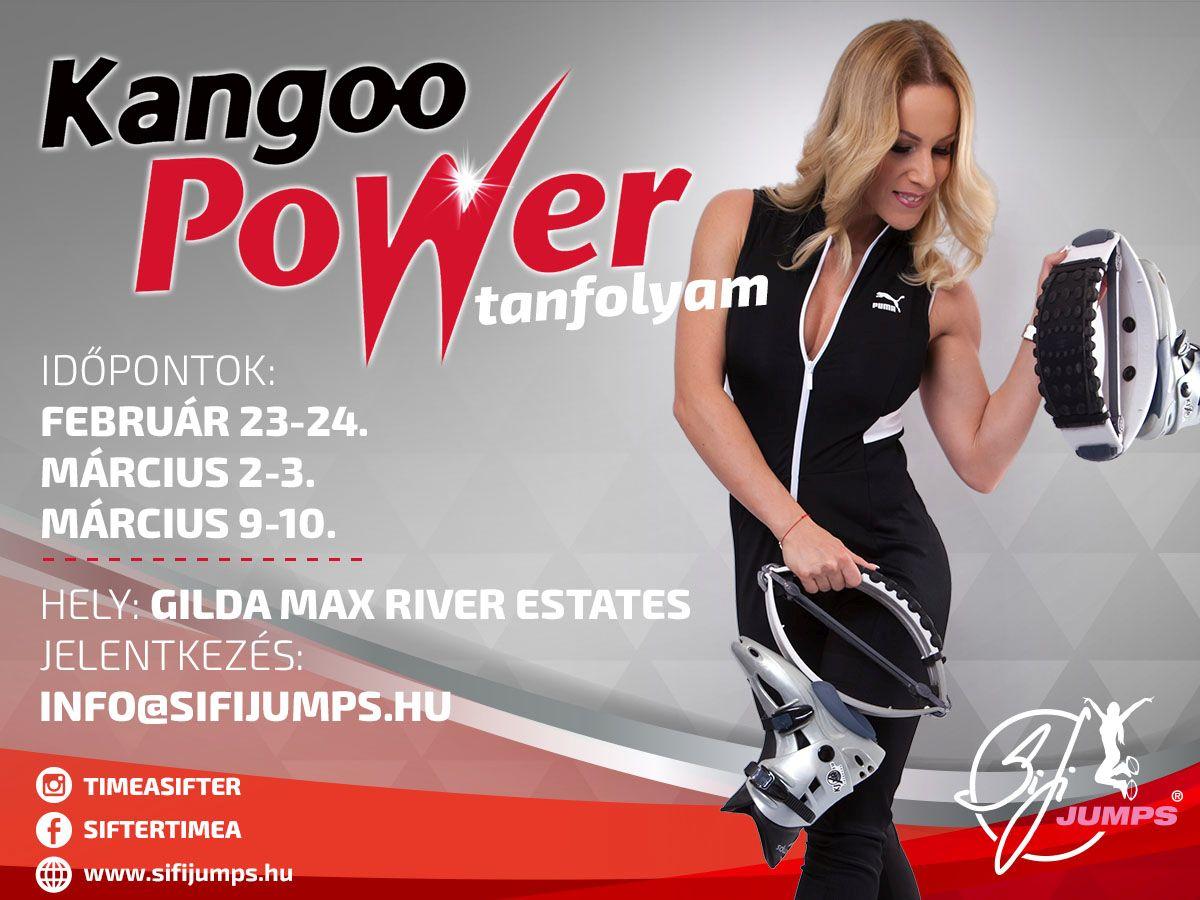 Kangoo Power tanfolyam 2019