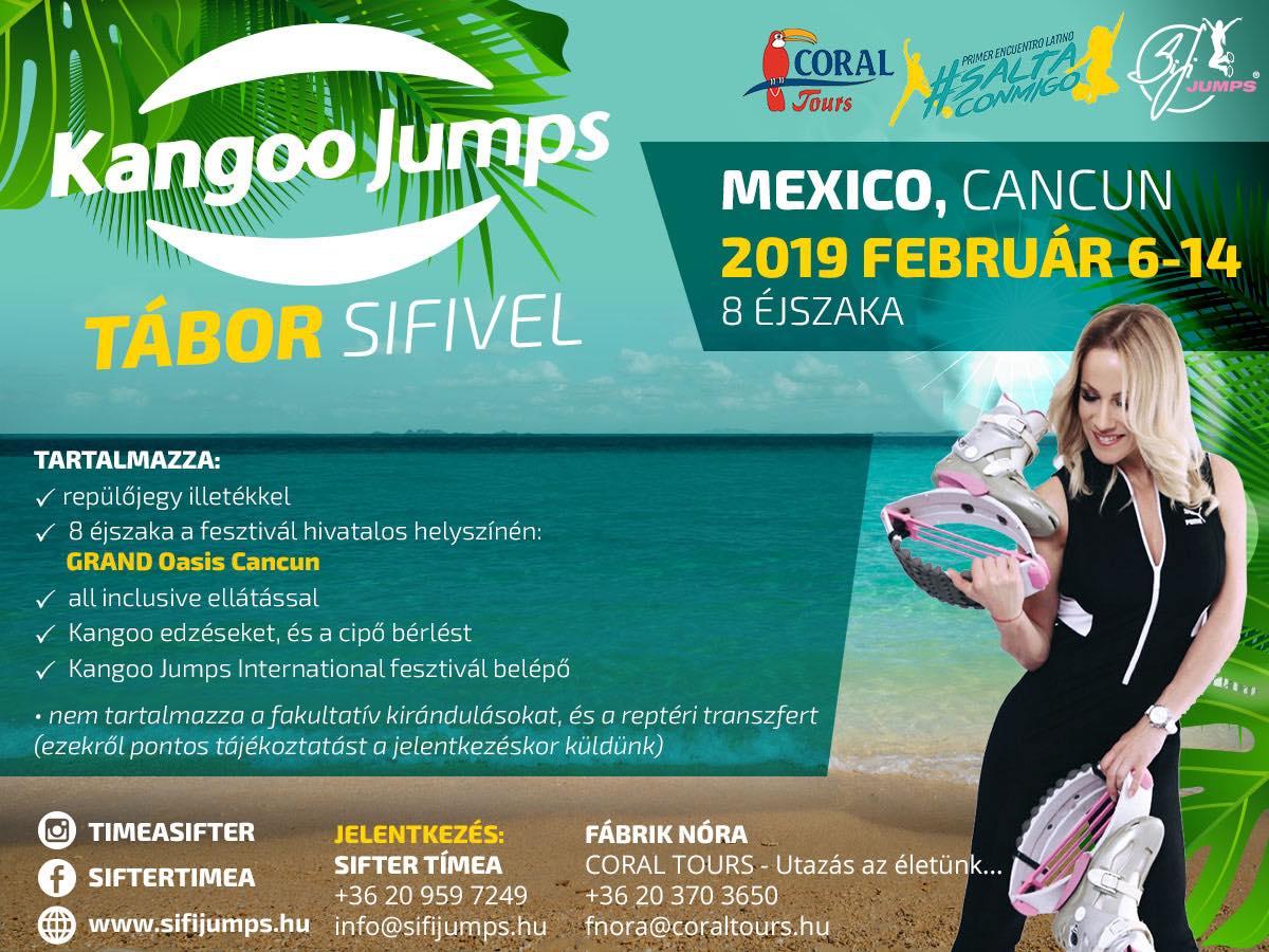 Mexiko Cancun Kangoo Tábor Sifivel
