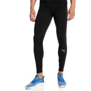 8aa6bdc7f9 Ignite Long Tight Puma Black férfi futónadrág