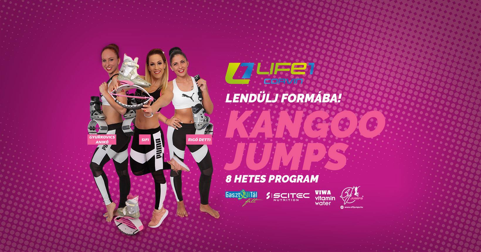 Kangoo Jumps Alakformáló program