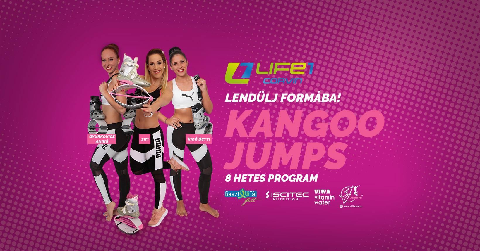 Kangoo Jumps Alakformáló program